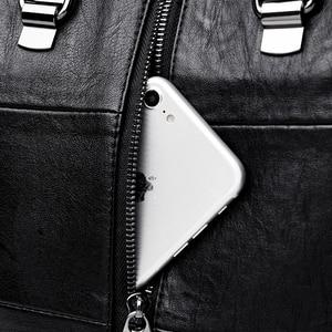 Image 5 - متعددة الوظائف المرأة حقيبة ظهر مصنوعة من الجلد حقيبة كتف الإناث كيس دوس السيدات على ظهره Mochilas الحقائب المدرسية للفتيات في سن المراهقة Preppy