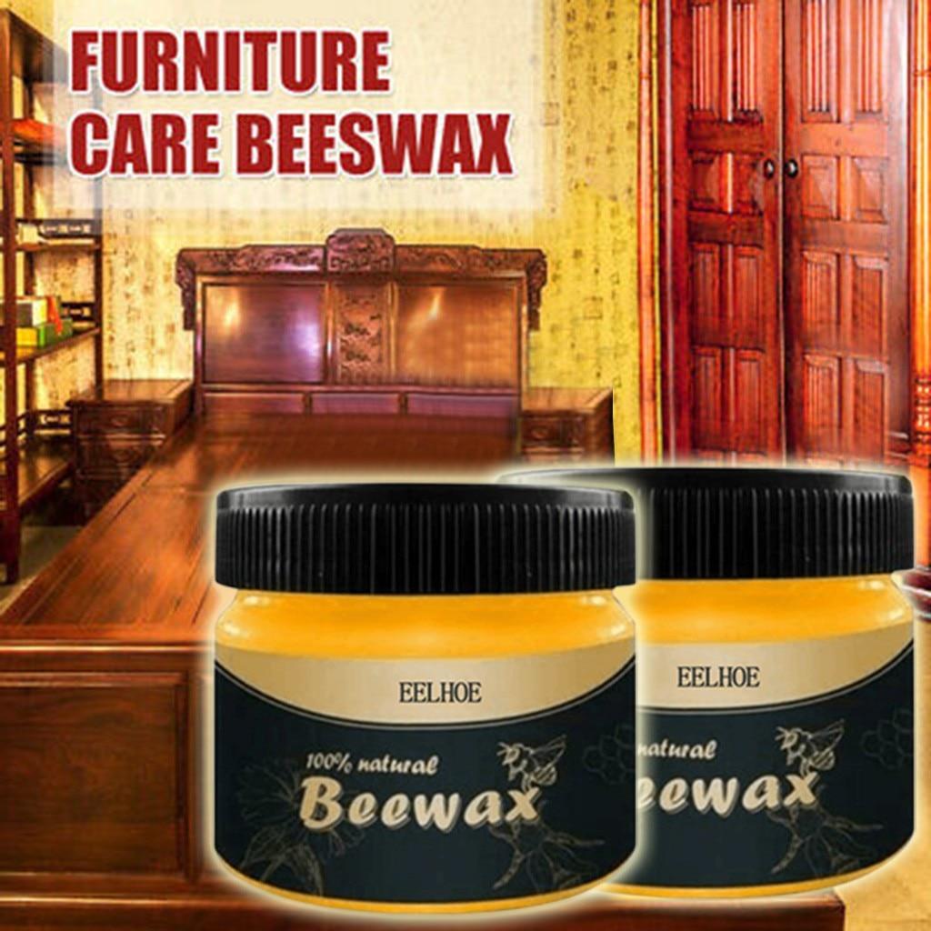 Furniture Care Organic Natural Pure Wax Wood Seasoning Beewax Complete Solution Beeswax Home Cleaning Polishing Wood Polish    - AliExpress