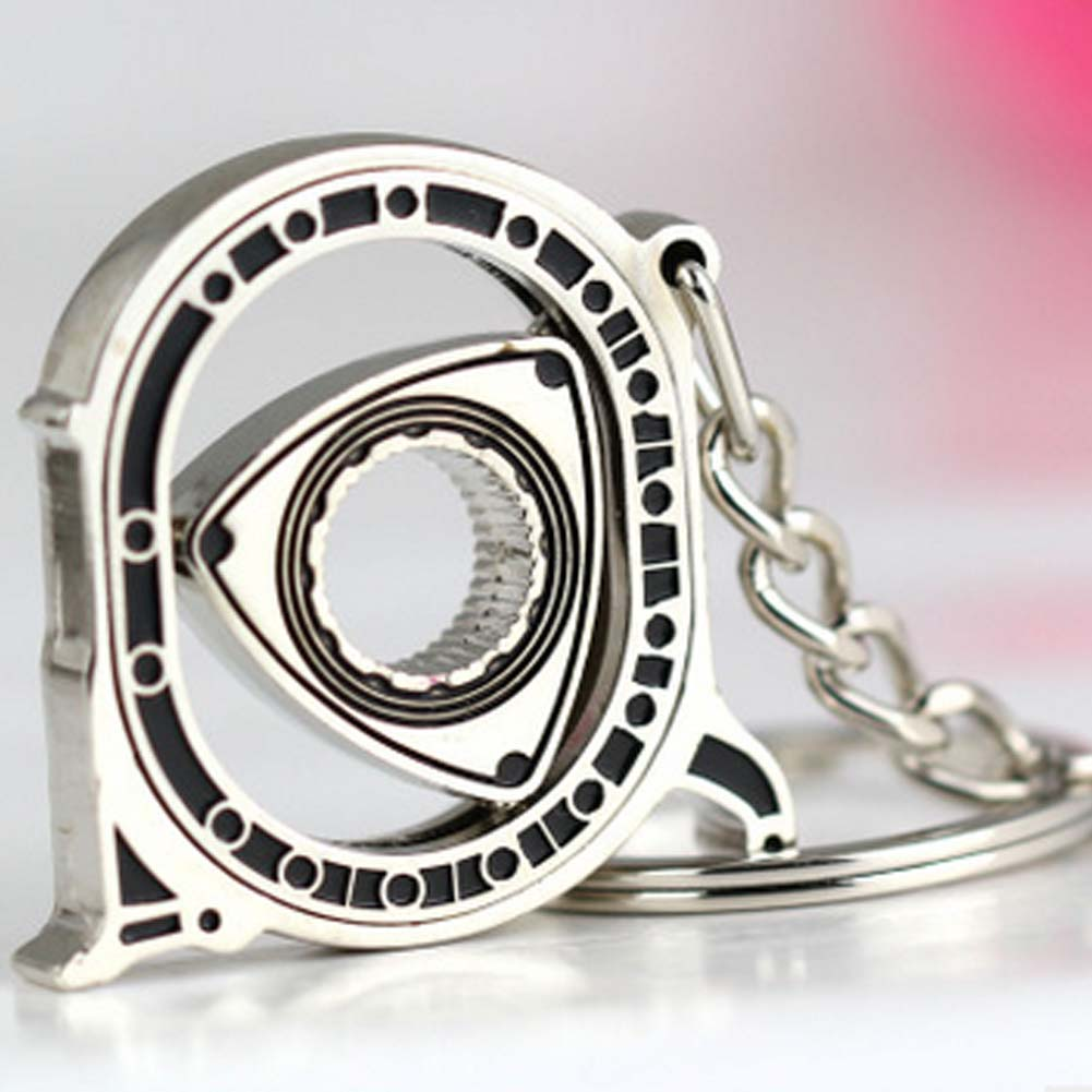 ROTARY ENGINE KEYRING keychain for mazda RX7 <font><b>RX8</b></font> RX-8 RX-7 PRESENT GIFT IDEA image