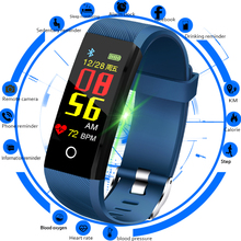 LIGE Brand New Smart Bracelet Men Heart Rate Blood Pressure Health Monitor Watch Pedometer Sport Wristband Fitness Tracker