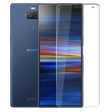 Kính Cường Lực Cho Sony Xperia 1 II 10 II Plus 5 XA3 XZ4 XZ2 XZ1 Nhỏ Gọn XZs XZ Cao Cấp XZ màn Hình Kính Cường Lực Bảo Vệ