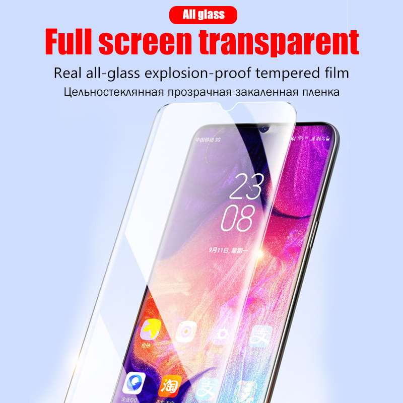 Full Cover Clear Screen Protector Tempered Glass For Samsung Galaxy A10 A50 A20 A70 A51 5