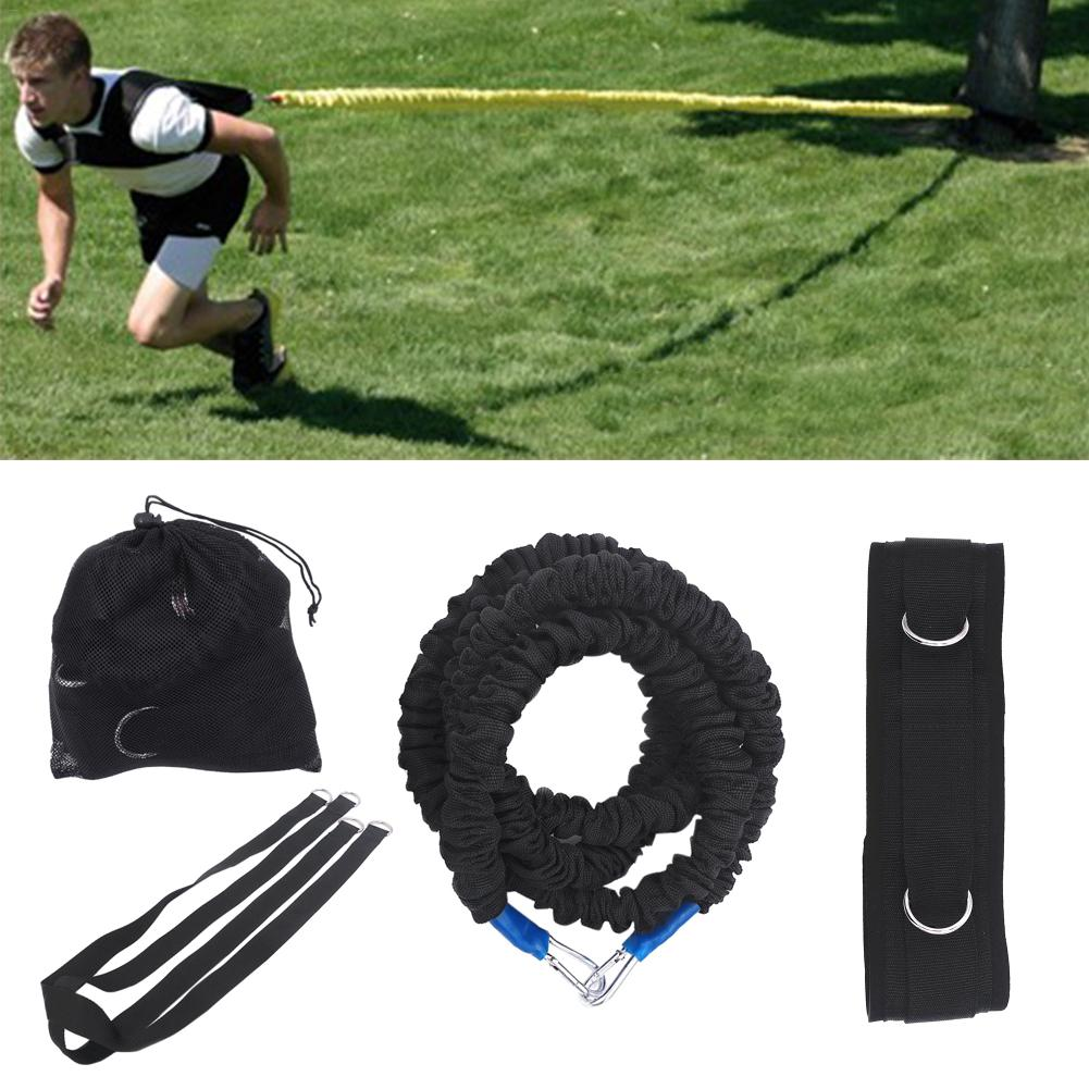 Resistance Band Bungee Latex Acceleration Speed Cord Trainer Set For Fitness Stretching Running Sprint Training Improve Agility4
