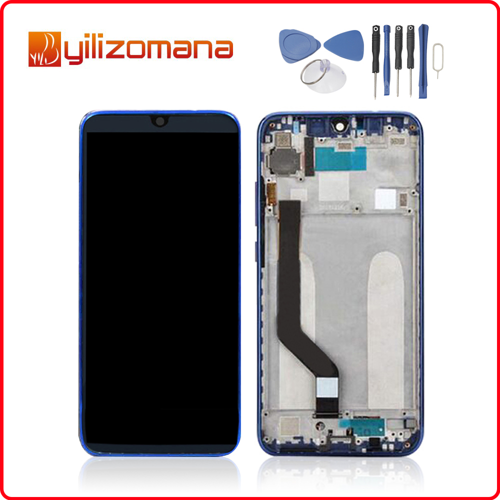 6.3 1080x2340 For Xiaomi MI Redmi Note 7 LCD Display Touch Screen Digitizer with Frame XIAOMI Note7 Pro