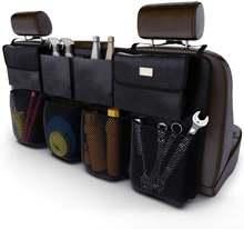 Mikrokosmos Автомобильная Задняя сумка для хранения на спинку