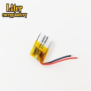 Image 3 - Meilleure batterie marque 3.7V polymère lithium batterie 301014 micro dispositif Bluetooth casque jouet 40mAH 301015