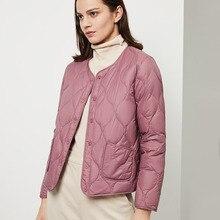 BOSIDENG womens clothing Spring down coat regular jacket ult
