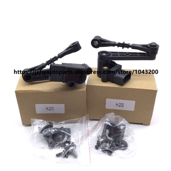 New Front Left & Right Ride Driver Air Suspension Height Sensor For Land Rover Range Rover Sport 06-09 LR020474 / LR020473 rear air suspension spring bag for range rover vogue l322 suspension bag rkb500080 rkb500240 rkb000151 rkb500082 rkb000150