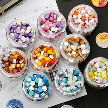 170pcs/lot Sealing Stamp Wax Beads Colorful Wax Seal Stamps for Envelope Documents Wedding Birthday Party Invitation