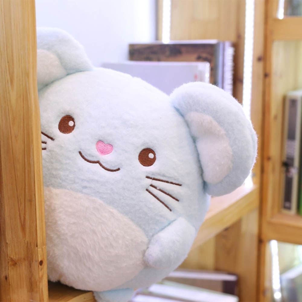 Cute Simulated Mouse Pillow Super Soft Plush Mouse Doll Stuffed Rat Plush Animal Toy Mascot 20cm/30cm/40cm