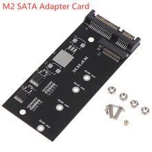 1 conjunto de alta eficiência m.2 nvme ssd converter adaptador cartão nvme/ahci atualizado kit para sata revisão i/ii/iii (1.5/3.0/6.0 gbps)
