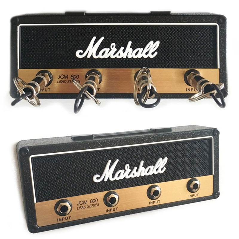 Rack Amp Vintage Guitar Amplifier Key Holder Jack Rack 2.0 Marshall JCM800 Marshall Key Wall Holder Guitar Home Decoration Gifts