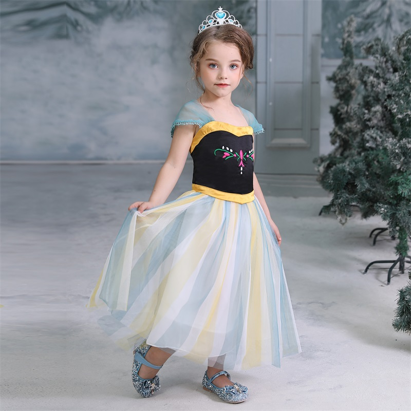2020 Children Girl Snow White Dress for Girls Prom Princess Dress Kids Baby Gifts Intant Party Clothes Fancy Teenager Clothing