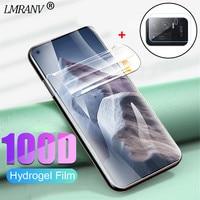 Película de hidrogel para xiaomi mi 11 ultra protetor de tela Mi11 Lite Screen Protector Mi 9 10 T Lite vidro macio Xiomi Mi 10T Pro proteção da câmera Pelicula Mi11 Lite