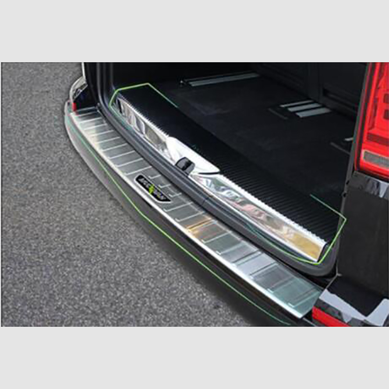 For VW T5 Transporter 2003-2010 Chrome Bumper Strip Trim Stainless Steel