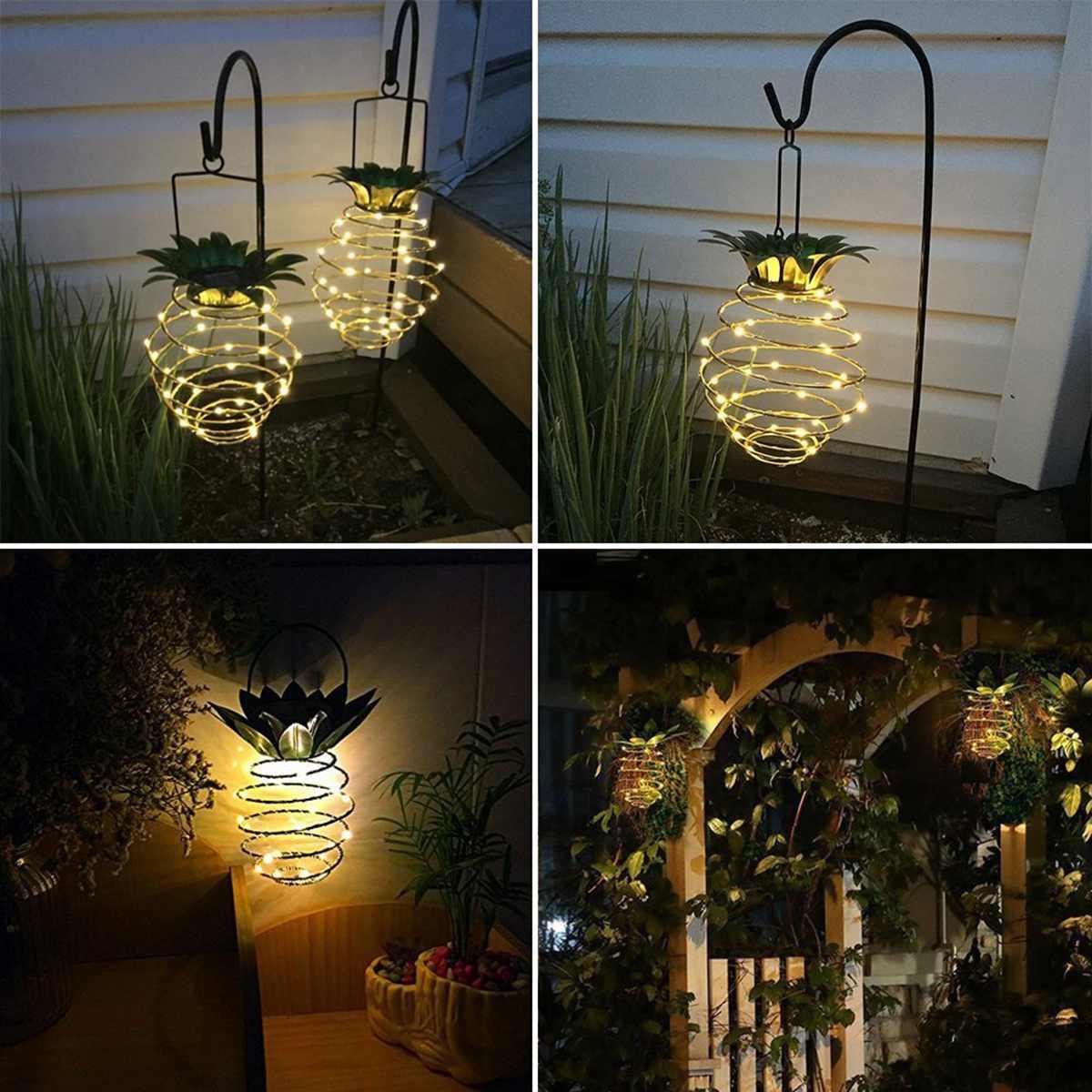 Solar Ed Led Lights Garden Yard