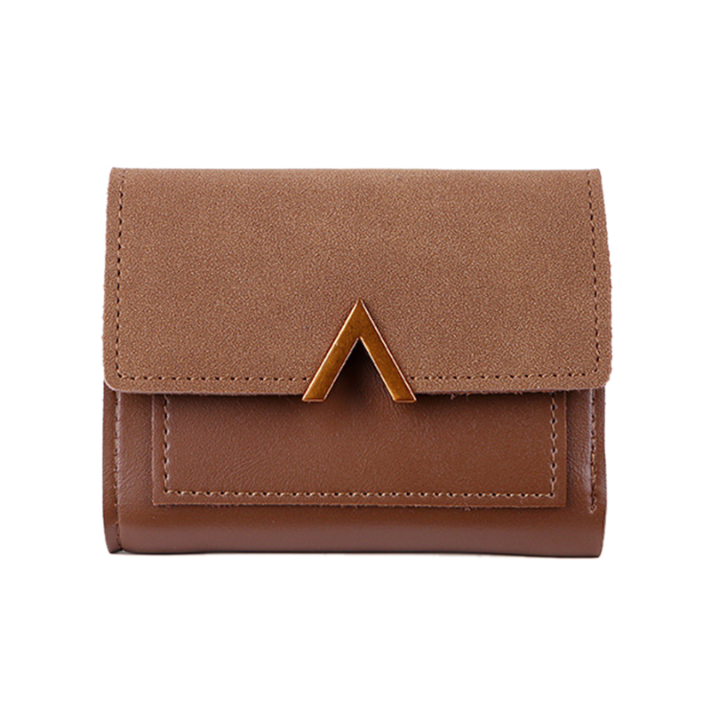 Matte Leather Small Women Wallet Mini Womens Wallets And Purses Short Female Coin Purse Credit Card Holder