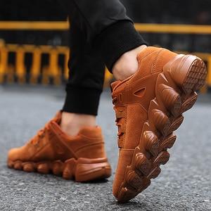 Image 4 - 편안한 스포츠 야외 패션 스니커즈 남성 통기성 신발 워킹 남성 신발