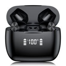 Bluetooth earphone T9 touch siri noise reduction stereo IPX5 waterproof with charging compartment wireless TWS Bluetooth headset t18 tws bluetooth new private model headset 5 0 wireless dual earphone mini bluetooth headset with charging compartment