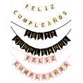 1 шт. испанские буквы флаг День Рождения украшения Бумага баннер на день рождения для детей и взрослых День рождения фон декорированные закл...