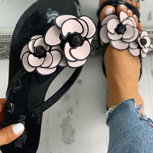 2020 Plus Big Large Size 43 Leisure Beach Vacation Comfortable Flat Summer Women Shoes Sandals Woman Flip Flops Shoes Woman 2020 woman flip flops summer shoes slippers cool beach rivets big bow flat sandals brand jelly shoes sandals girls big size 42