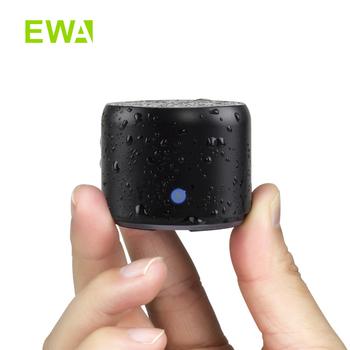 Głośnik MIni Bluetooth z futerał do przenoszenia grzejnik basowy przenośny głośnik bluetooth EWA A106Pro 5 0 na zewnątrz dom prysznic tanie i dobre opinie Przenośne Baterii Metal Pełny Zakres Brak NONE Inne Flac 60 hz-23 khz