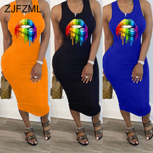 Plus Size Ruched Summer Slim Fit Dress 2020 Women Round Neck Backless Zipper Up