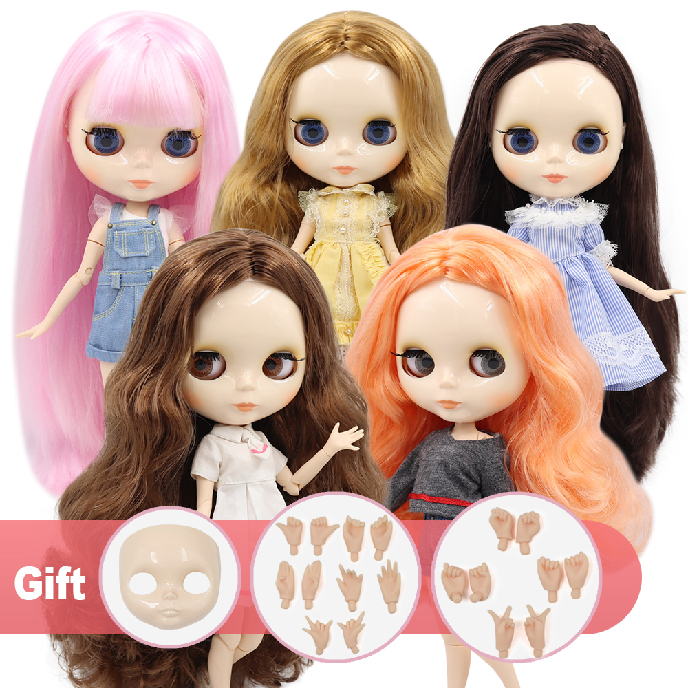 Nude Doll for Girl Joint Body White Skin Matte Face 12 in Toy 1//6 Great Gift AB