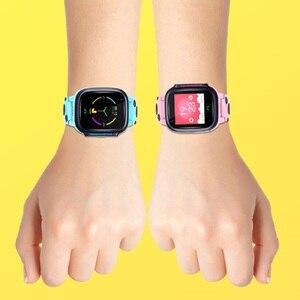Image 5 - Reloj inteligente Y95 para niños, reloj inteligente con red 4G, Wifi, GPS, SOS, resistente al agua, antipérdida, con llamadas SIM, localizador de teléfono, 2020