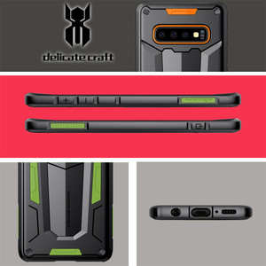Image 4 - Funda protectora Nillkin, carcasa protectora para teléfono de capas, carcasa trasera para Samsung Galaxy S10 Plus S9 S8 Plus Note 9/8/Note FE Hybrid