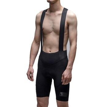 Pantalones cortos con pechera para hombre, ropa de ciclismo profesional, parte superior,...