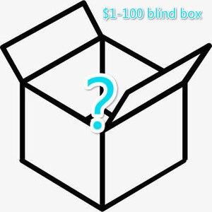 $ 1-100 blind box toys, shipped randomly