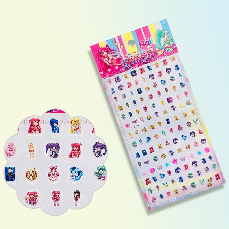 1pc Children's Nail Stickers Nail Enhancement South Korea Waterproof Girl Baby Cartoon Stickers