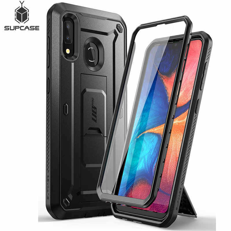 For Samsung Galaxy A20 /A30 Case SUPCASE UB Pro Full-Body Rugged Holster Case Cover with Built-in Screen Protector & Kickstand