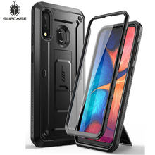 Für Samsung Galaxy A20 /A30 Fall SUPCASE UB Pro Full-Körper Robuste Holster Fall Abdeckung mit Gebaut-in Screen Protector & Ständer(China)