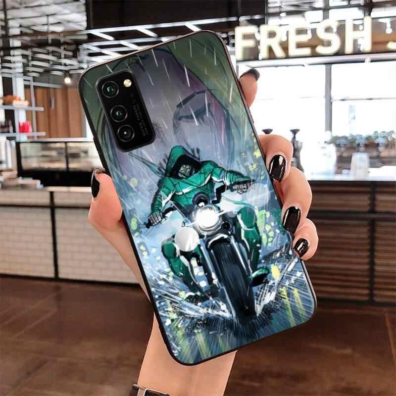 Cutewanan Groene Pijl Luxe Unieke Ontwerp Telefoon Cover Voor Samsung S20 Plus Ultra S6 S7 Rand S8 S9 Plus S10 5G Lite 2020