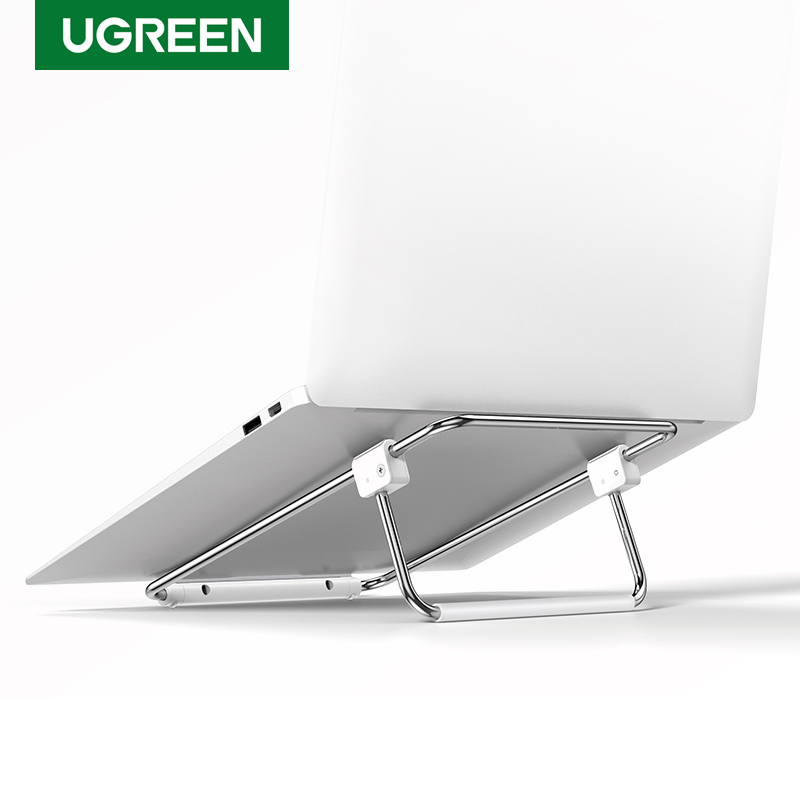 Ugreen Laptop Stand Height Adjustable Notebook Stand For Macbook Pro Folding Holder Support 17inch Notebook Portable Desk Stand