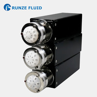 6 8 10 Port Multiple way Flow Switching Valve Quality High Stability Micro liquid Metering RS232/RS485/CAN Communication Control