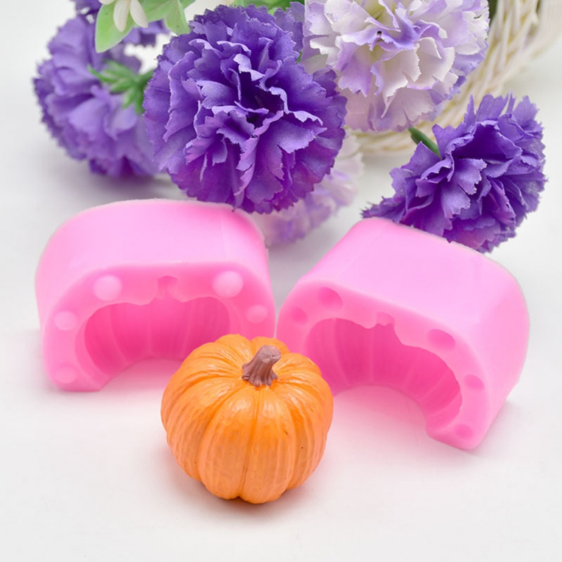 Hallowmas Pumpkin DIY Candle Silicone Mold Soap Molds Handmade Candle Making Soap Mold DIY Molds Art Craft