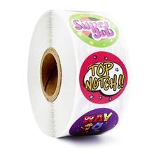 500шт скрап награда наклейки детей игрушки украшения класса канцтовары, печать этикетки стикер офис