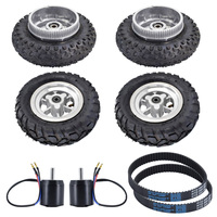 SYL 08 All Terrain Off road Skateboard Accessories Kit For Outdoor Sports Fun