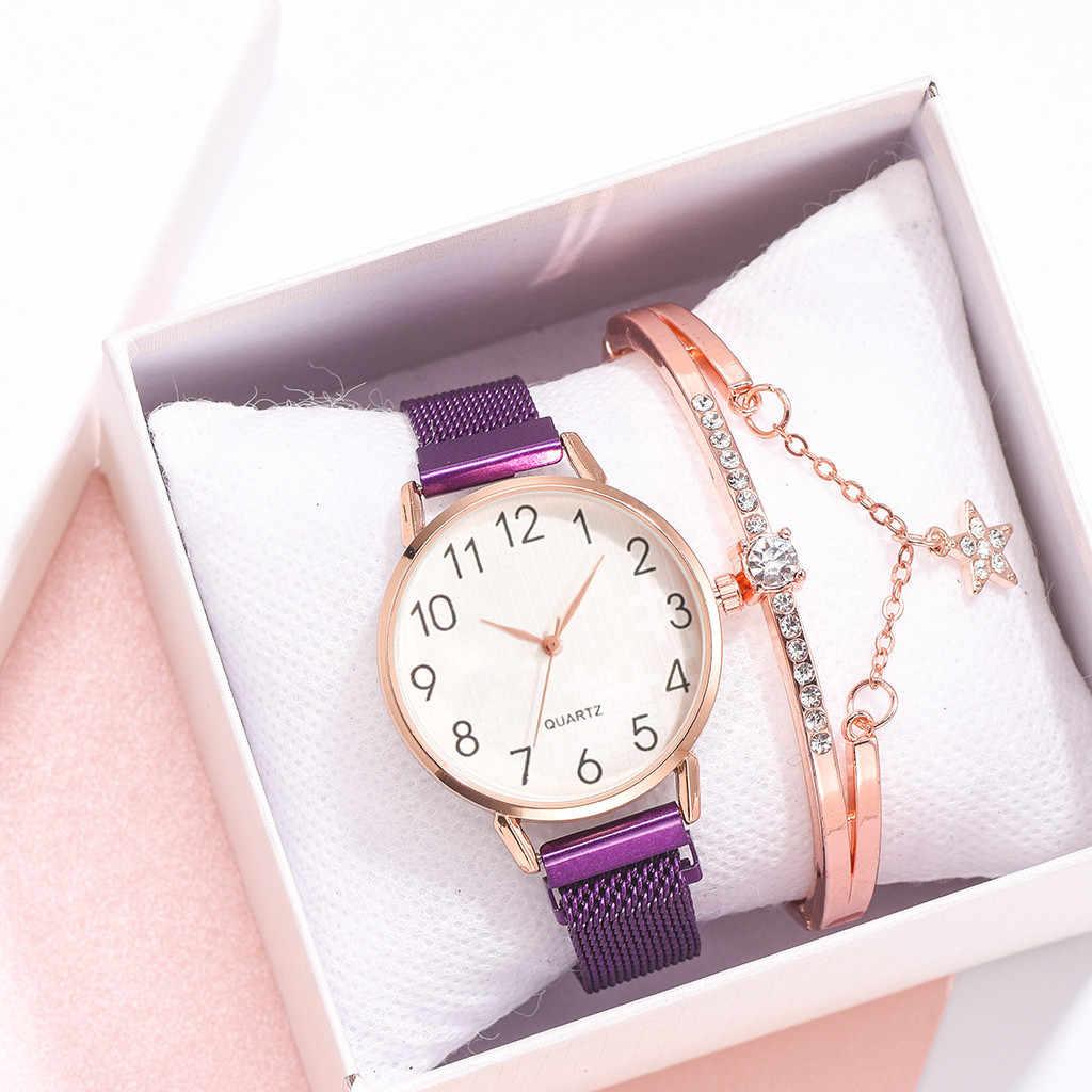 Mulheres senhoras relógio de quartzo relógio de pulso pulseira terno aço inoxidável malha cinto relógios feminino paul_valentine reloj mujer