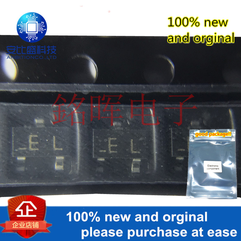 10pcs 100% New And Orginal 2SA1344-TB Silk-screen EL SOT23 2SA1344 In Stock