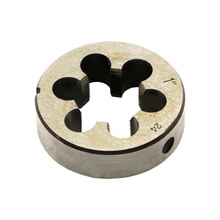 Right Hand Round Thread Die CNC Alloy Tool Steel 1 inch-24 TPI Replacement Metric Screw Die Metalworking  Threading Tools