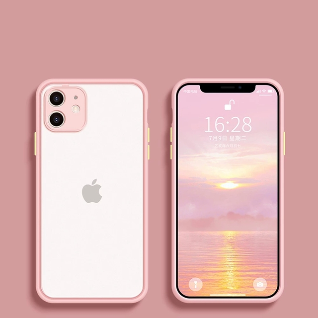 Camera Protector For Apple iPhone 11 Case For iPhone 12 Mini 12 Pro Max Case 7 8 6 6S Plus XR X XS MAX SE 2020 Case Cover Bumper 3