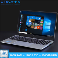 16G RAM 1TB / 500/1000GB HDD 128G SSD 15.6 Gaming Laptop i7 Notebook PC Metal Business AZERTY Italian Spanish Russian Keyboard