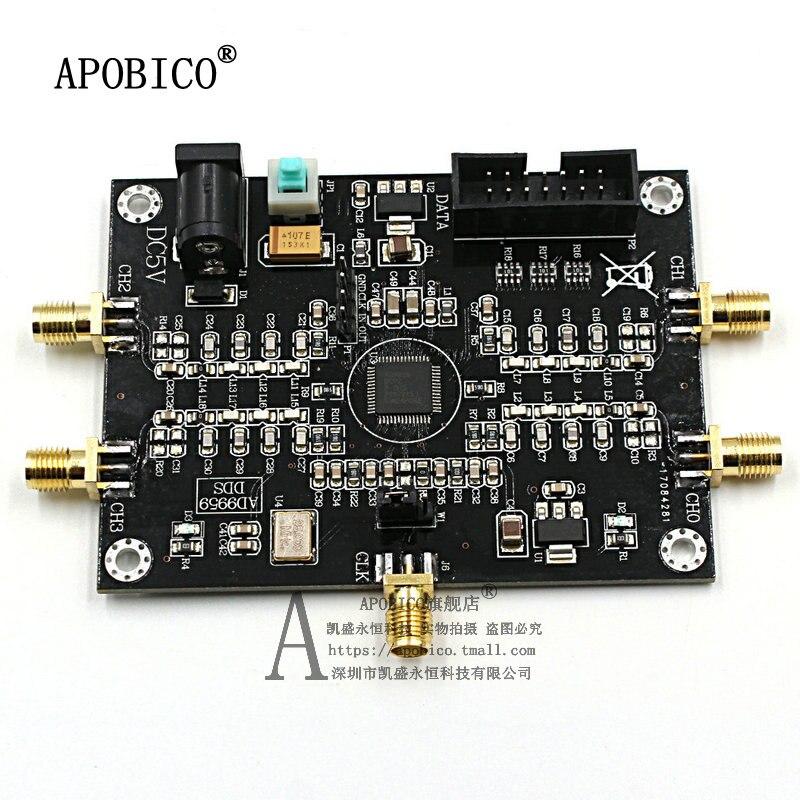 AD9959 Module RF Signal Source 4-Channel DDS Signal Generator