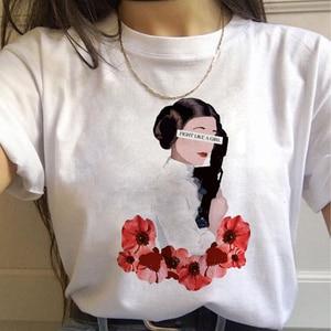 Женская футболка в стиле Харадзюку, Женская Винтажная Футболка Ullzang 90 s, графическая футболка в Корейском стиле для женщин