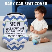 Nursing-Cover-Scarf Baby-Stroller-Cover for Mum Multi-Use Stripe Infant