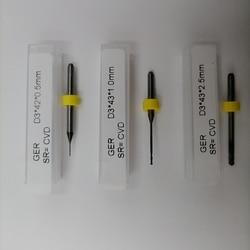 Sirona inLab MCX5 Diamond Coated (CVD) Dental Milling Tools Cad Cam Burst Burs 800-1000 Units Endmills For Dental Lab Use